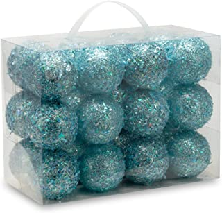 Best turquoise baubles for christmas trees Reviews