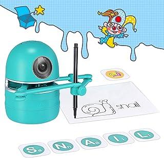 Mumoo Bear Intelligent Automatic Drawing Robot, Robot Artist Painting/Spelling/Mathematics, USB Rechargeable Educational R...