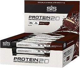 12 Protein Bars Protein Bar Sis 20 Grams Protein x 55 g Brownie Dark Chocolate Estimated Price : £ 35,72