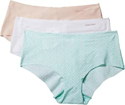 Calvin Klein Underwear Invisibles 3-Pack Hipster Bottoms