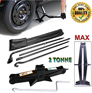 for (2004-2014) Ford F150 Spare Tire Lug Wrench Tool Kit Replacement & Scissor Jack 2 Tonne Heavy Duty, Spare Tire Changing Repair Tool