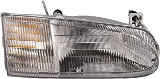 HEADLIGHTSDEPOT Halogen Right Passenger Headlight Compatible With Holiday Rambler Vacationer 1996-2000 Motorhome RV