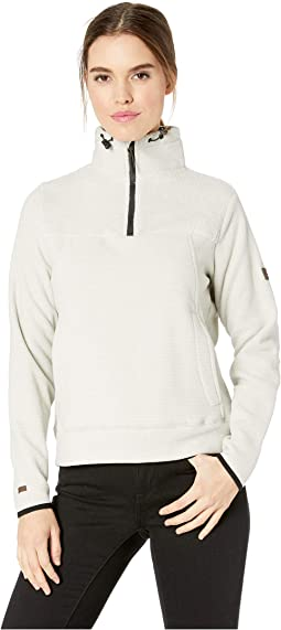 Boundary Mock 1/2-Zip Fleece Top