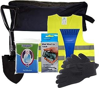 SafeTravel – Kit de emergencias para averías en invierno, Dorado