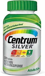 Centrum Silver Adult (220 Count) Multivitamin / Multimineral Supplement Tablet, Vitamin D3, Age 50+