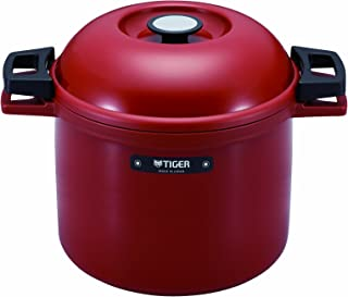 Tiger Thermal Magic Cooker, Red, RJ, 4.5 L