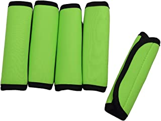 Orchidtent 5 Pack Soft Comfort Neoprene Handle Wraps/Grip/Identifier for Travel Bag Luggage Suitcase