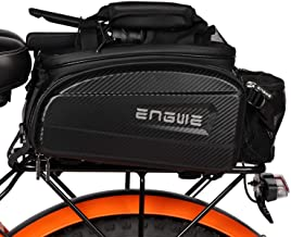 Double Panniers Bag Bike Bicycle Rear Seat Trunk Rack Colors NEU Bag 3 R9D6