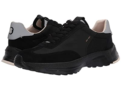 COACH C155 Reflective Paneled Runner (Black) Men