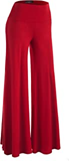 Women's Casual Comfy Wide Leg Palazzo Lounge Pants (XS~5XL)