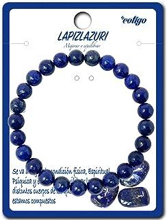 Bracelet en pierre naturelle - Bracelet fil élastique avec perles en pierre naturelle - Différentes pierres semi-précieuse...