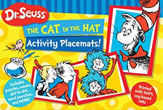 Dr. Seuss The Cat in the Hat Activity Placemats!: Includes puzzles, mazes, dot-to-dot, word searches, and more! (Dr. Seuss...