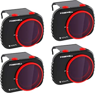 Freewell Bright Day - 4K-Serie - 4Pack Filters Compatibel met Mavic Mini/Mini 2