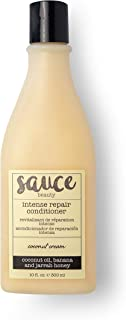 Coconut Cream Intense Repair Conditioner with Moisturizing Coconut Oil, Banana, and Rich Jarrah Honey to Help Smooth & Defrizz Hair - Sulfate Free Hair Conditioner - Detangles & Provides Slip to Hair