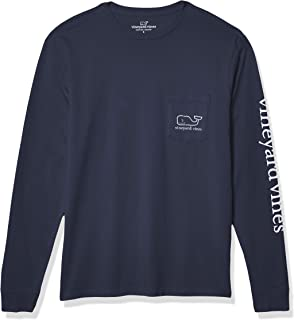 Vineyard Vines Men's Long-Sleeve Whale Pocket T-Shirt