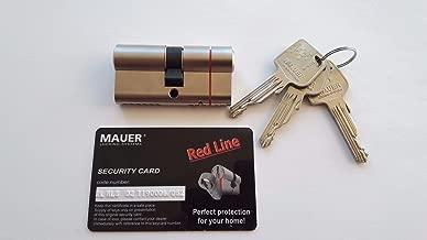 Mauer MLS Red Line SKG/ASSA ABLOY Group/Euro Cylinder Door Lock/with 3 Keys (31/31)