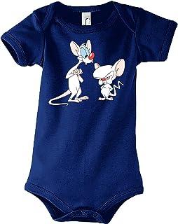 TRVPPY Baby Jungen & Mädchen Kurzarm Body Strampler