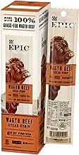 EPIC Wagyu Beef Steak Strips, Grass-Fed, 10 Count Box 0.8oz strips