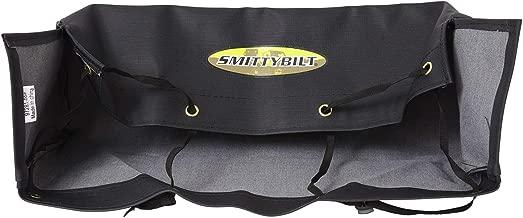 Smittybilt 97281-98 Black Winch Cover with Smittybilt Logo