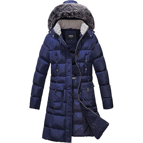 Women S Snap Front Puffer Coats Amazon Com