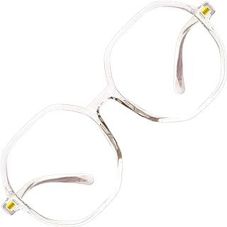 Fantasyworld Round format filling plain glasses plastic optical frame simple metal women//mens glass frame.
