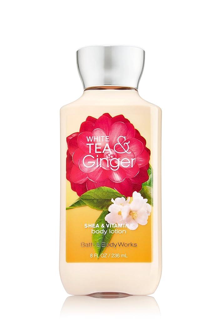下る平和的アブセイバス&ボディワークス ホワイトティ&ジンジャー ボディローション white tea& ginger body lotion [並行輸入品]