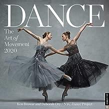 Dance: The Art of Movement 2020 Wall Calendar