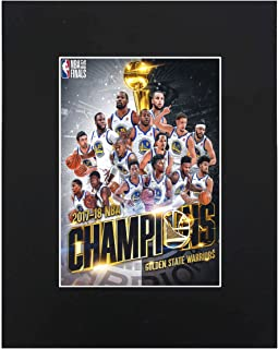 Golden State Warriors 2018 NBA Champions Basketball Team 2017-18 8x10 with Matted Print Printed Picture Photograph Gift Wall Decor Display USA Seller
