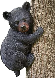 bear climbing tree decoration