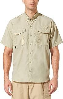 Men's UPF 50+ Hiking Shirt Outdoor Lightweight Fishing Shirt Quick Dry