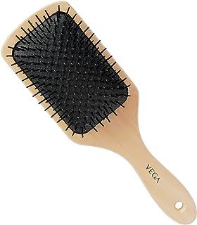 VEGA Premium Collection Wooden Paddle Hair Brush for Men & Women, (E2-PB)