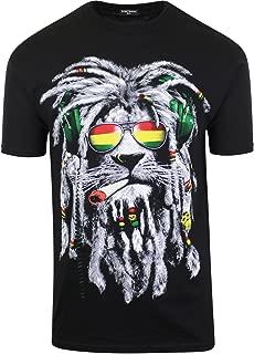 t shirt rasta lion