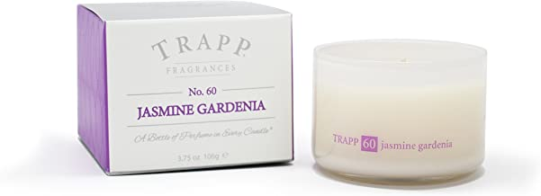 Trapp Ambiance Collection No. 60 Jasmine Gardenia Poured Scented Candle, 3.75-Ounces