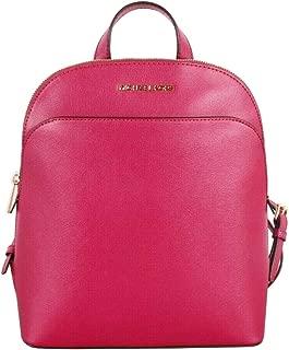 Emmy Large Pebbled Leather Backpack