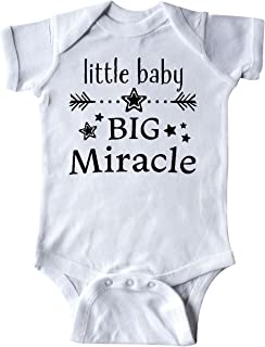inktastic Little Baby, Big Miracle Infant Creeper