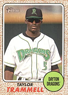 2017 Heritage Minor League #102 Taylor Trammell Baseball