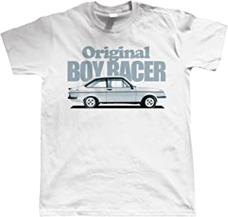 Mk2 Escort RS2000, Original Boy Racer, Mens Car T Shirt