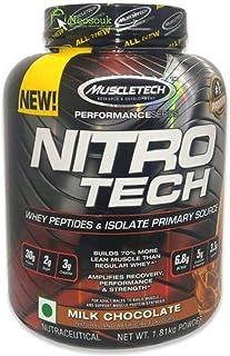 Proteina Muscletech Nitrotech 4 libras Chocolate