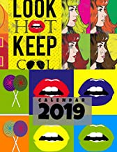 Calendar 2019: Pop Art Agenda Daily Planner and Appointment Notebook to Achieve Goals & Increase Productivity and Happiness. January 2019 to December 2019 (Calendar Daily Planner)