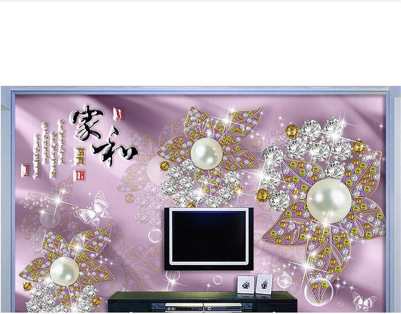 descuentos y mas Qqasd Fondos de pantalla personalizaños en en en 3D para sala de estar dormitorio joyería europea HDTV fondo parojo mural 3d papel tapiz no tejido-190X130CM  hasta un 70% de descuento