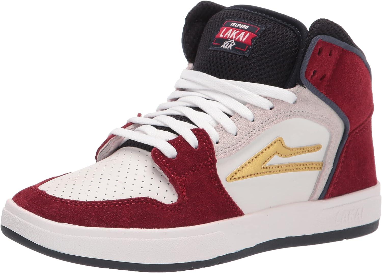 Lakai OFFer Men's Telford Echelon Long-awaited Skate Shoe