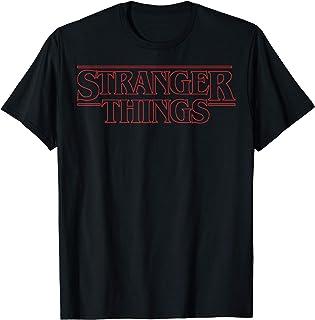 Netflix Stranger Things Outline Logo T-Shirt