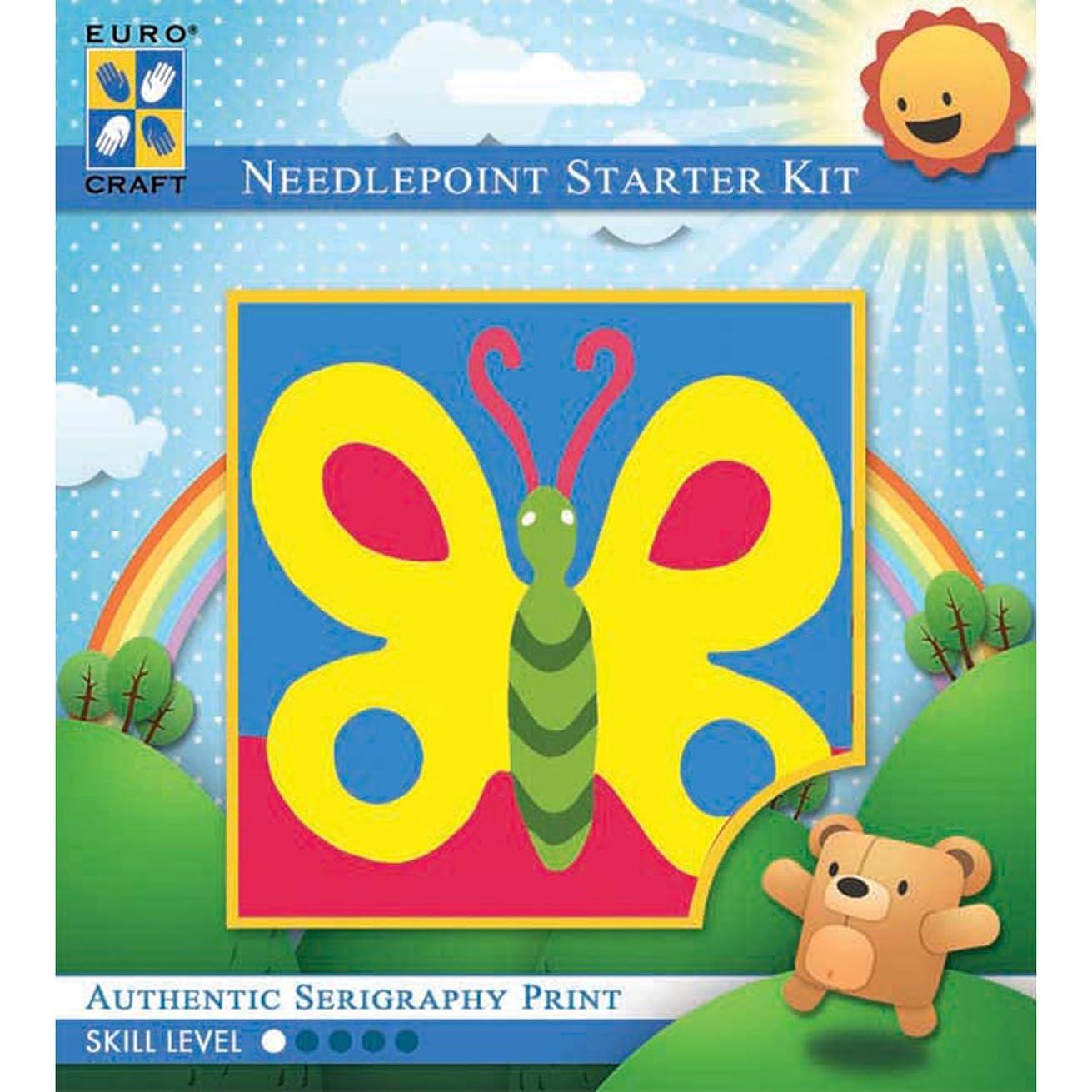 Needleart World Bold Butterfly Needlepoint Kit