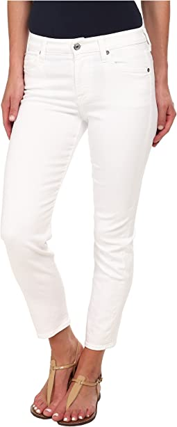 7 For All Mankind - Kimmie Crop in Clean White