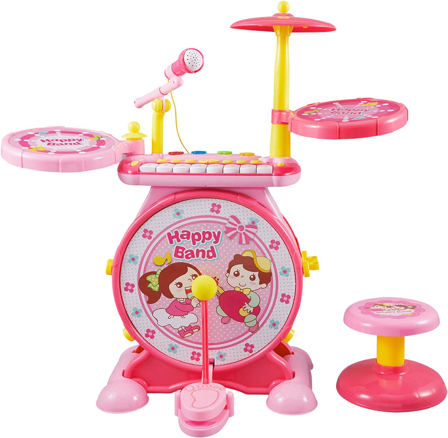 Reditmo Toddlers Toy Drum Set for Mini with Piano Popularity Kids Over item handling ☆ Keyboard