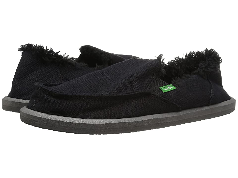 Sanuk Donna Hemp Chill (Black) Women