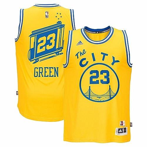 adidas Draymond Green Golden State Warriors NBA Men s Gold Hardwood  Classics Swingman Jersey 21e0ca2f7