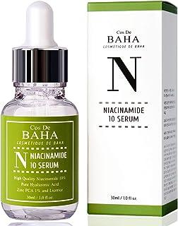 Niacinamide 10% + Zinc 1% Serum for Face - Pore Reducer + Uneven Skin Tone Treatment + Diminishes Acne Pron...