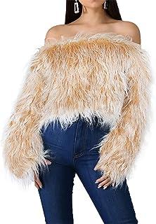 szivyshi a Maniche Lunghe con Maniche a Pipistrello Invernale Caldo a Coste Stitch Ampio Grossa Allentato Pullover Sweater Maglione Maglia Jumper Top