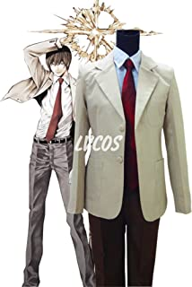 Death Note Yagami Light Cosplay Costume